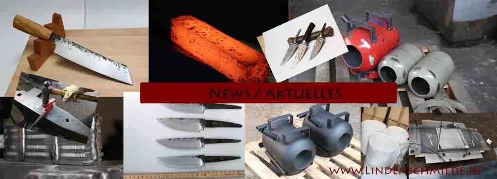 Lindenschmiede Messerschmieden news