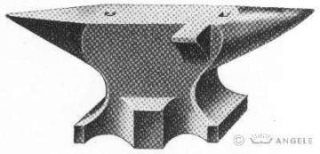 Amboss Süddeutsche form 200 kg