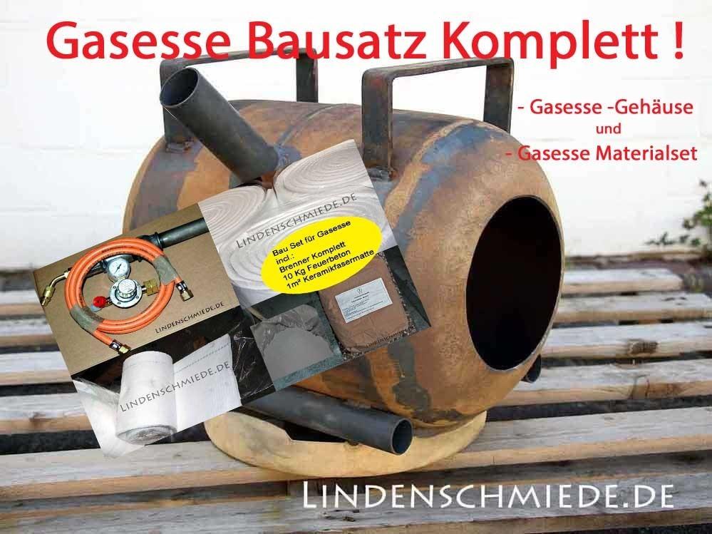 Gasesse Bausatz Komplett